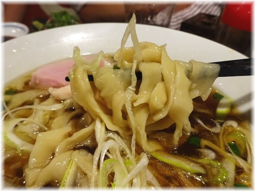 金町製麺5 手打ち中華そばの麺