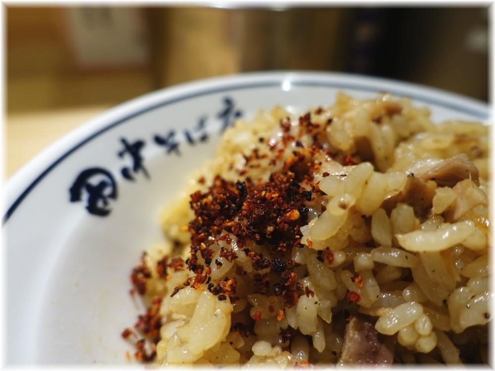 田中そば店新橋店3 特製肉めしに特製唐華