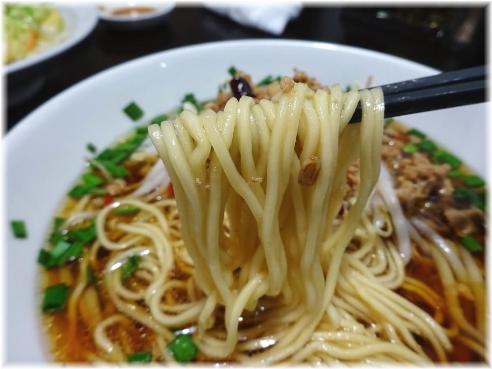 歓迎田町駅前店 台湾ラーメンの麺