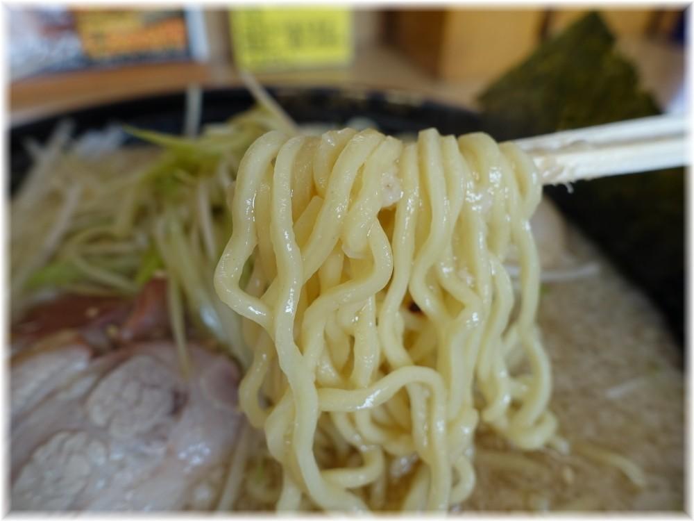 青木亭草加店 定番(小)の麺