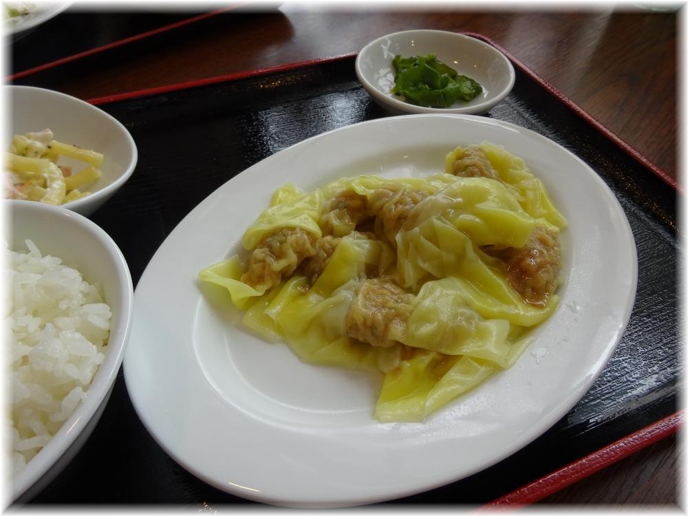 湘南食堂 ゆでワンタン定食