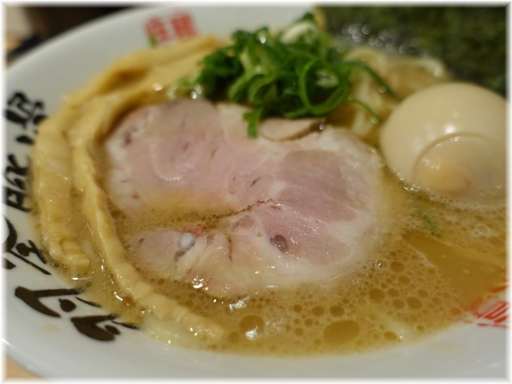 麺屋庄太赤坂店 らぁ麺(並)と煮玉子の具