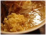 泪橋 マンモスラーメンのスープ