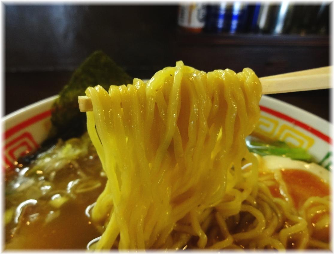 かどふく 中華そばの麺