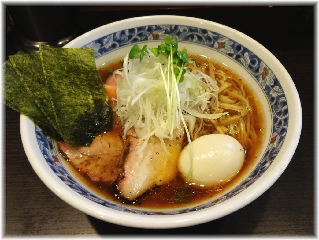 麺処夏海 豊穣清湯特製醤油ラーメン