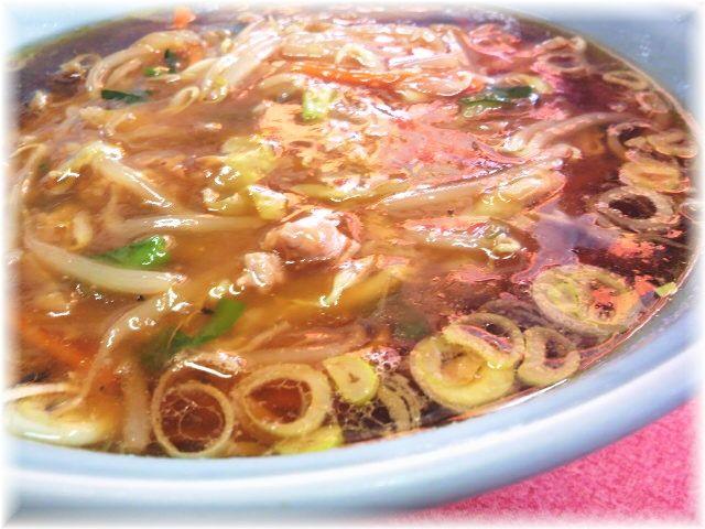 中華麺舗 虎 サンマーメンの具