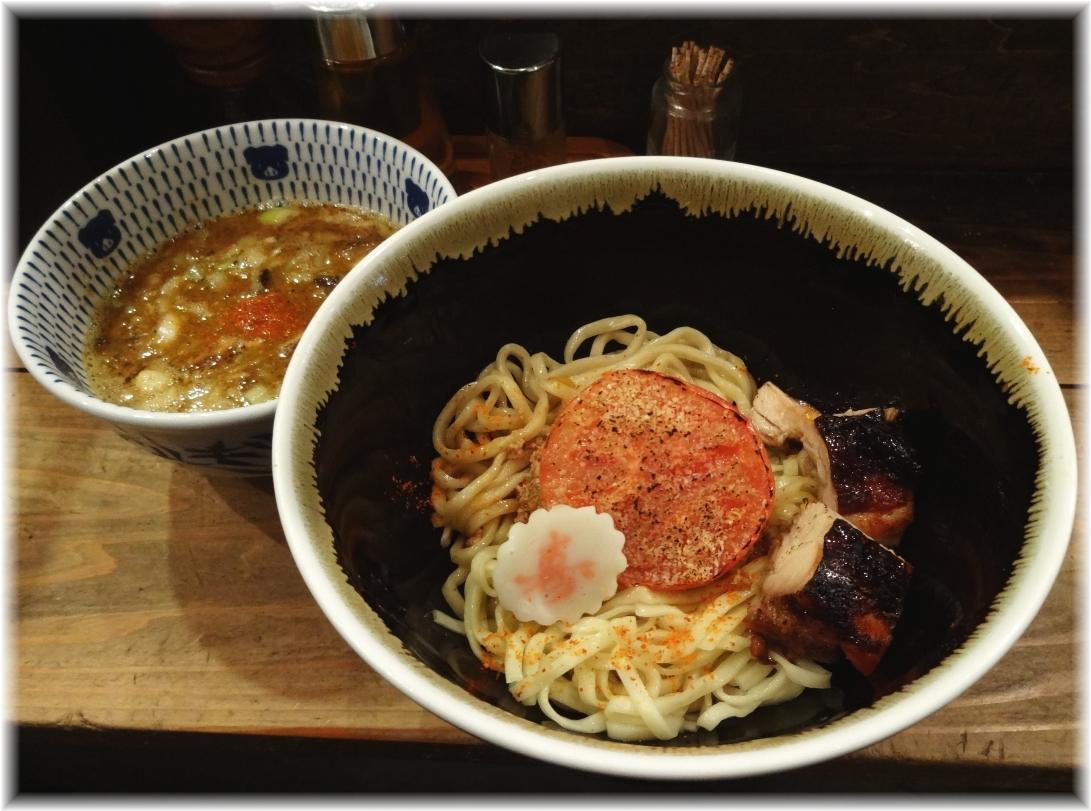 ラーメン凪炎のつけめん 限定海老煮干つけ麺