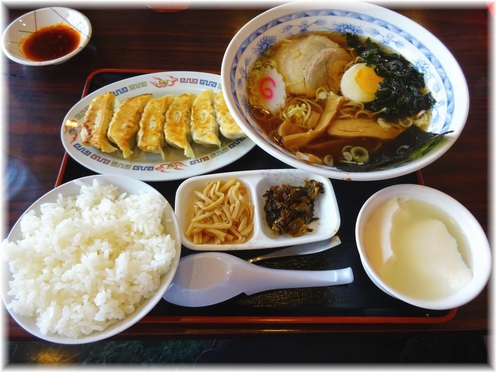 宇都宮餃子館 ラーメンセット