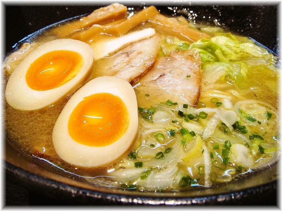 麺喰屋Senmi 特製塩らー麺の具