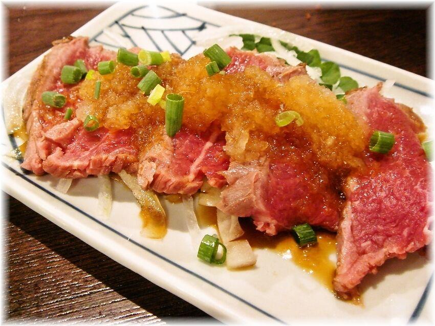 金町製麺 国産牛たたき