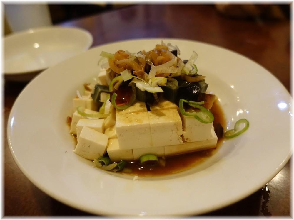 晴々飯店 ピータン豆腐