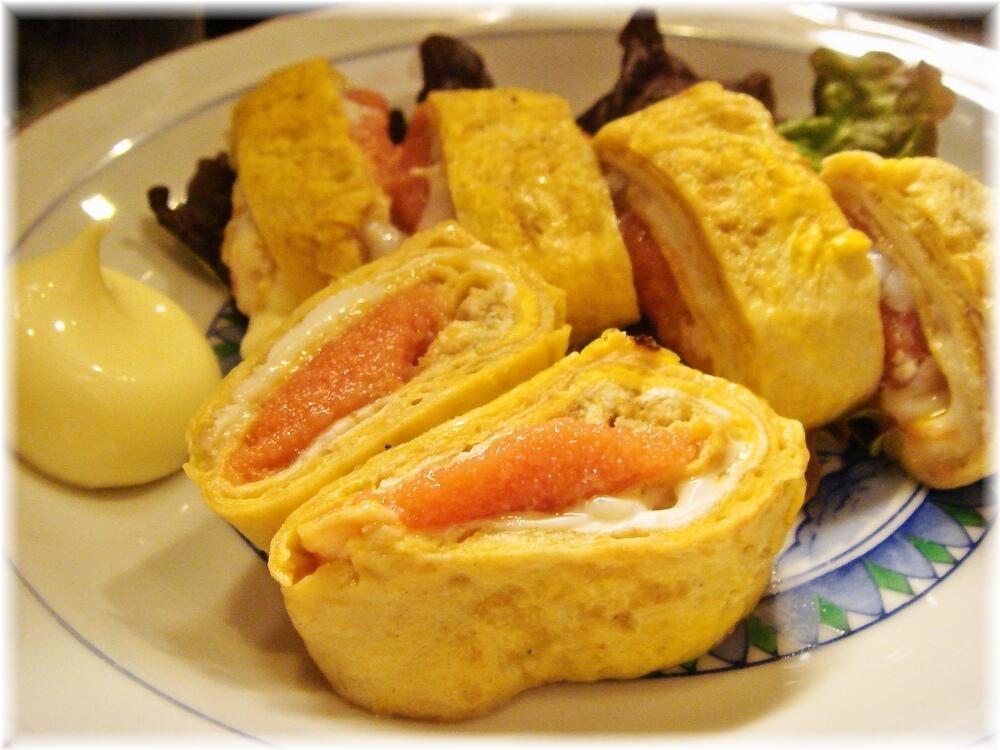kenzocafe 明太子卵焼き