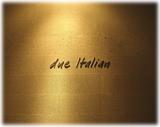 らぁ麺トラットリア Due Italian 店内のオブジェ
