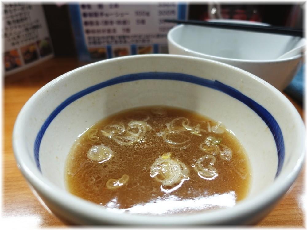 大勝軒弁天店 割りスープ