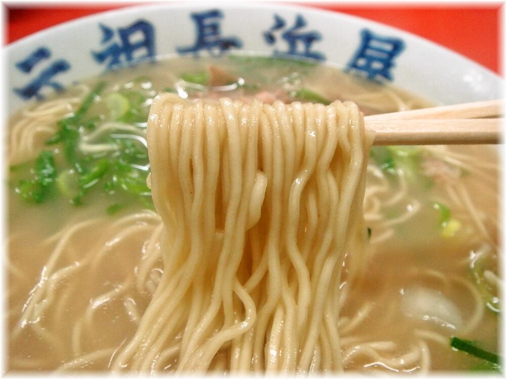 元祖長浜屋3 ラーメン(なし)の麺