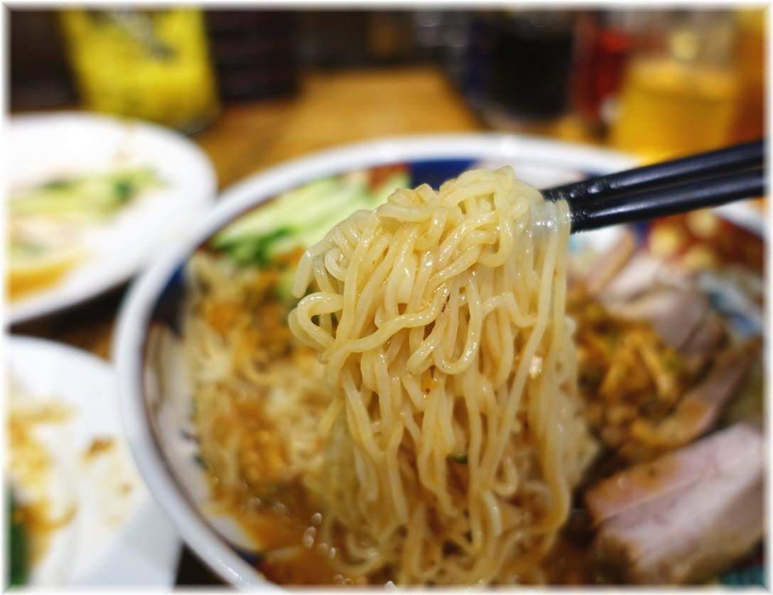 支那麺はしご赤坂店 太肉涼麺の麺