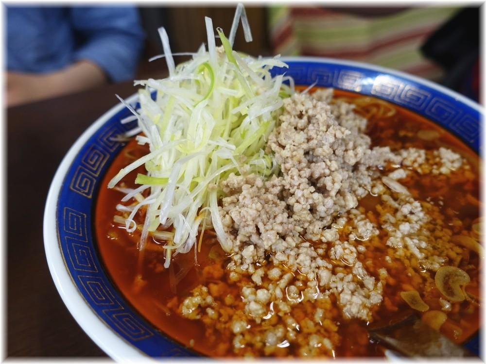 江ざわ 上担々麺