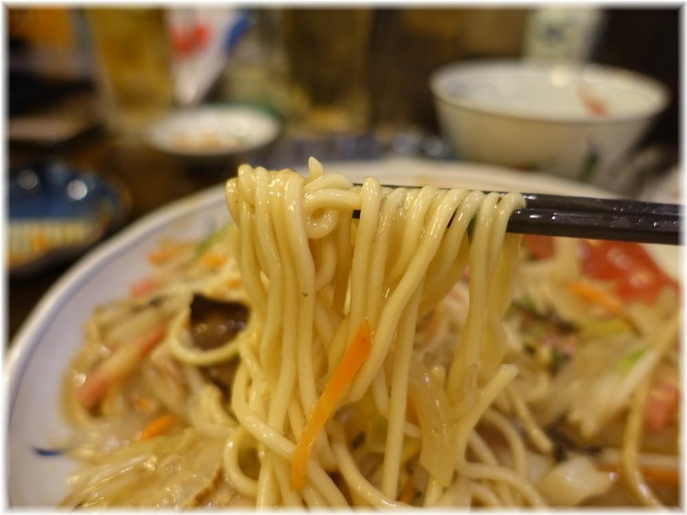 伊万里ちゃんぽん新橋店 特製皿うどんの太麺