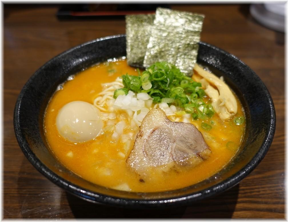 麺屋一禾2 濃厚辛味噌そば(味玉付)