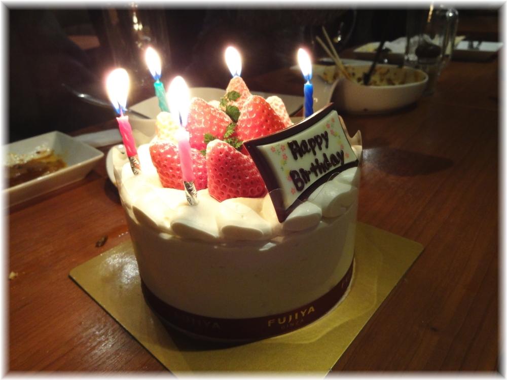 百菜百味 バースデーケーキ(持ち込み)