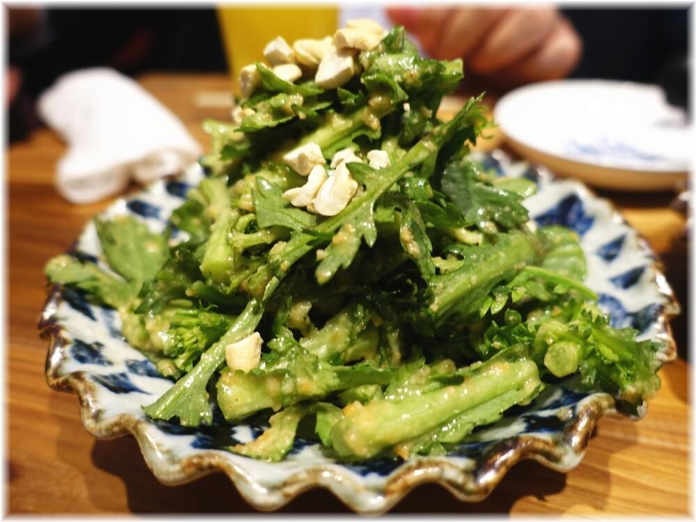 ゆしまホール2 ナッツと春菊の胡麻サラダ