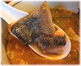 とくや 秋鮭ときのこの味噌らうめんの鮭