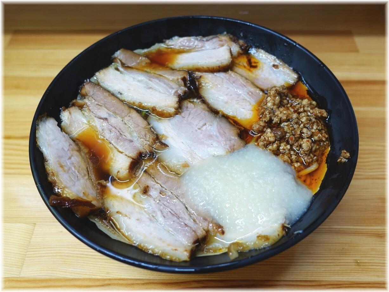 北大塚ラーメン 激辛チャーシュー麺(並)にニンニク