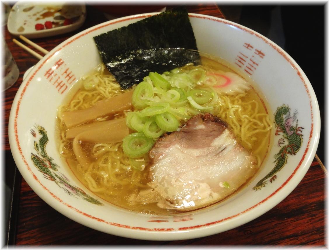 焼酎屋ぴーちゃん 塩ラーメン