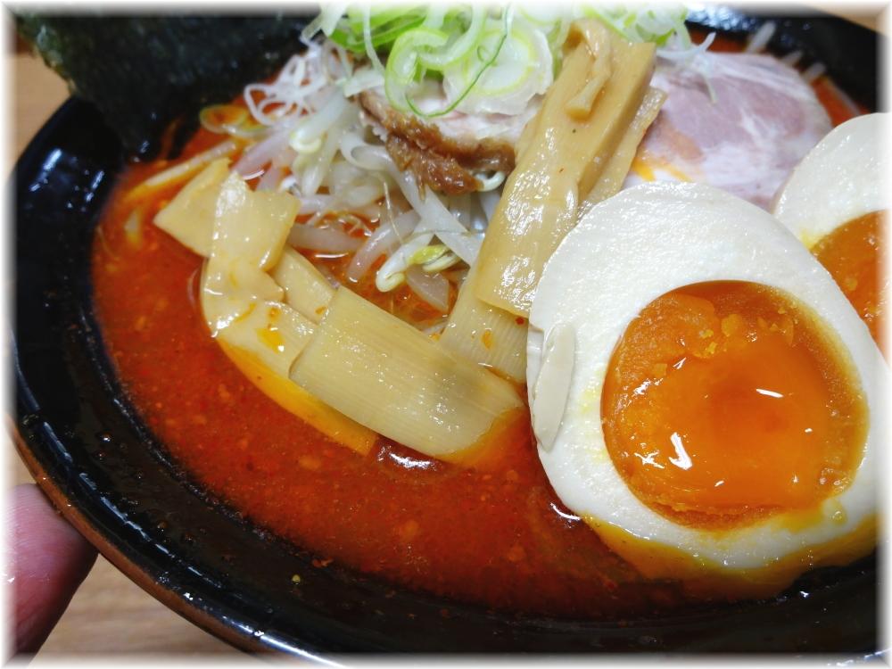札幌らーめん親 味噌オロチョン+特製味玉の具