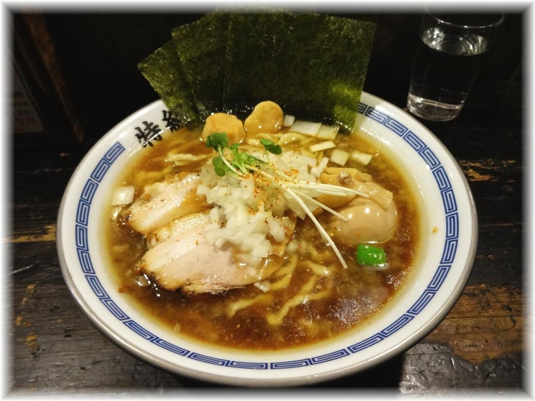 煮干王西新宿店 特製100%鶏らあめん