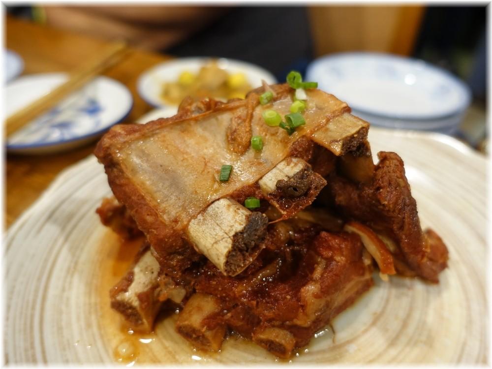 中華料理帆 骨付きの柔らか肉