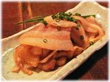 きび 豚肉と玉ねぎを炒めたおつまみ