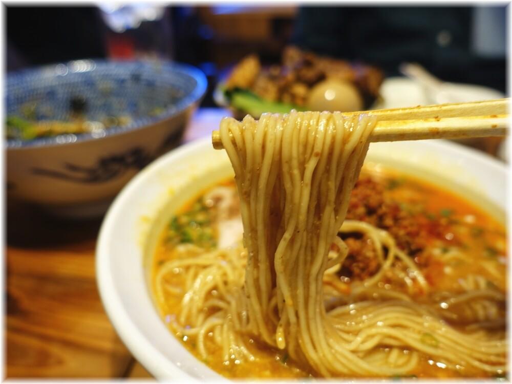ゆしまホール2 担々麺の麺