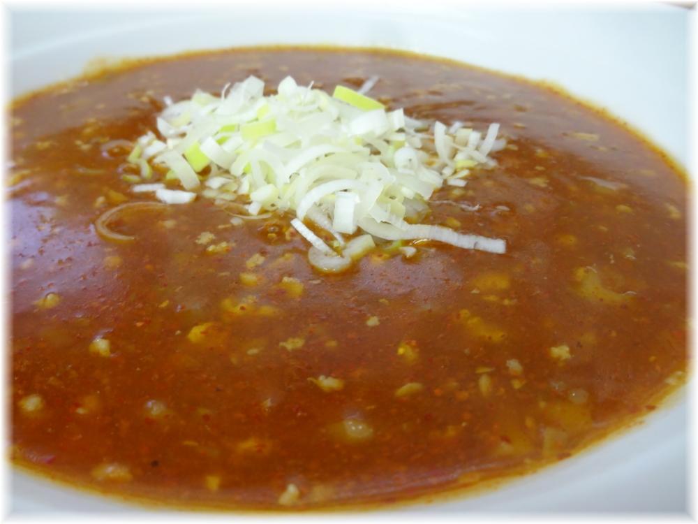 麺処池田 坦坦麺のスープ