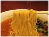 萬福飯店 牛スジの担々麺の麺