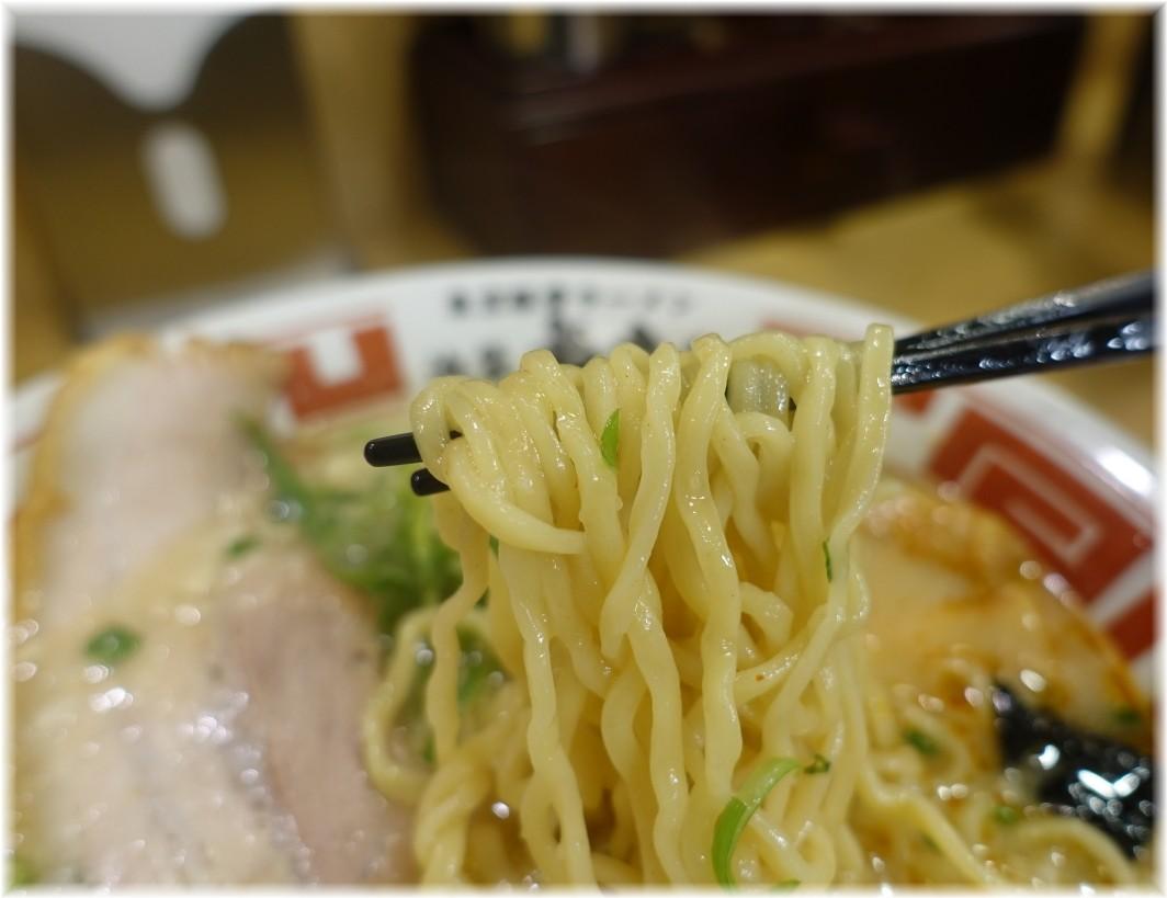 屯ちん大宮店 東京豚骨ラーメンの麺