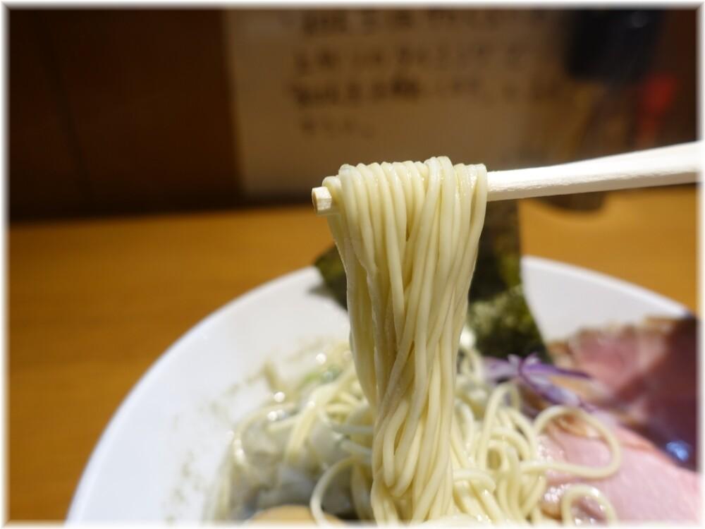 亀戸煮干中華蕎麦つきひ 中華蕎麦の麺