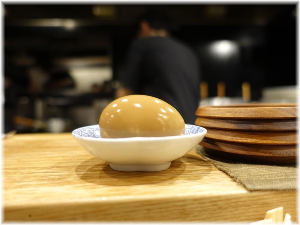 鴨to葱 別皿の煮卵