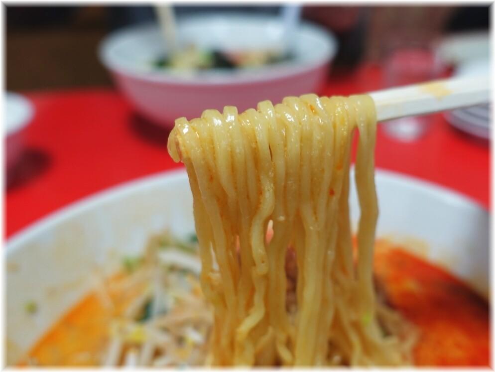 大連3 担々麺の麺