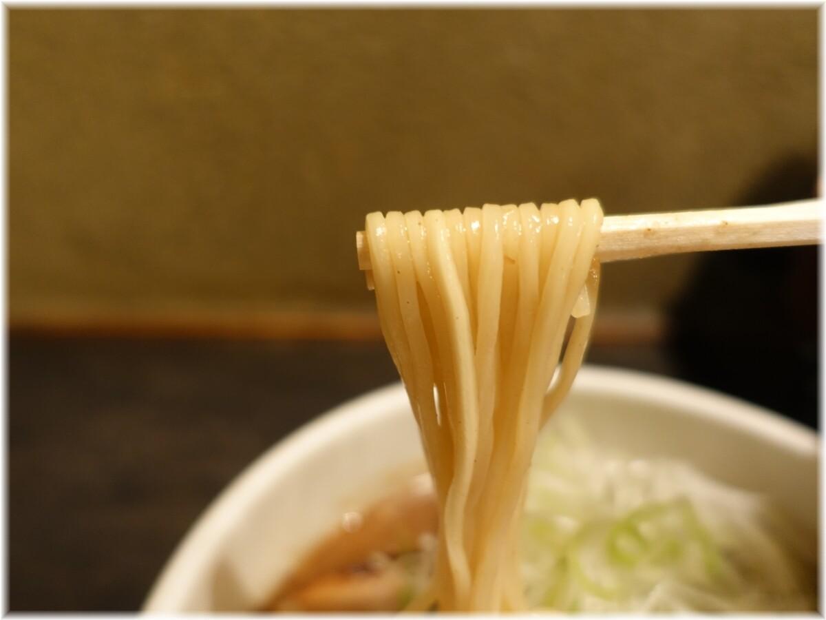 中華そば櫻坂 中華そばの麺