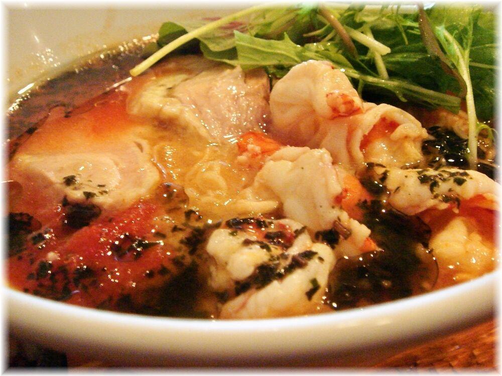 トロケの台所 海老ダシの冷やしトマト麺の具