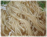 赤のれん(節ちゃんラーメン) 麺