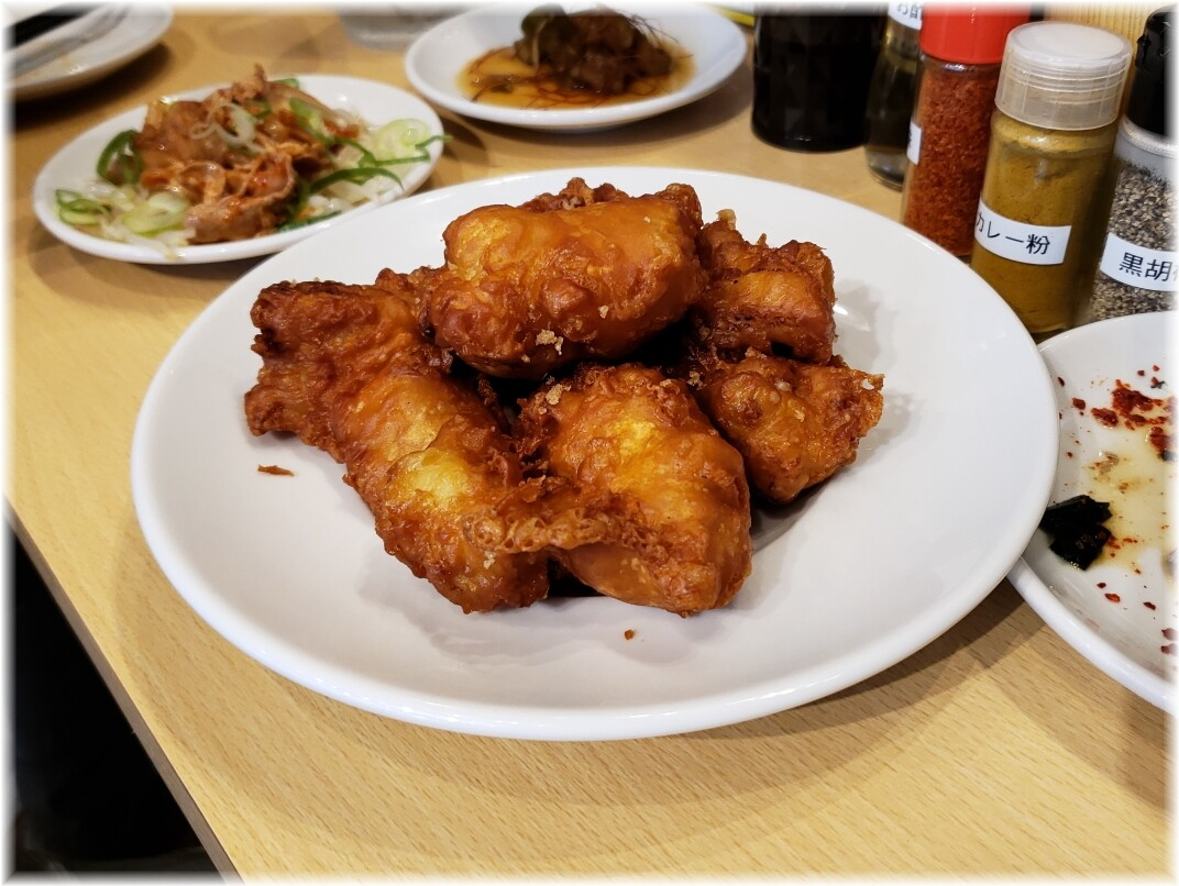 肉汁麺ススム新橋店 肉汁から揚げ
