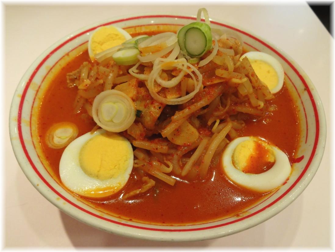 蒙古タンメン中本新宿 味噌卵麺