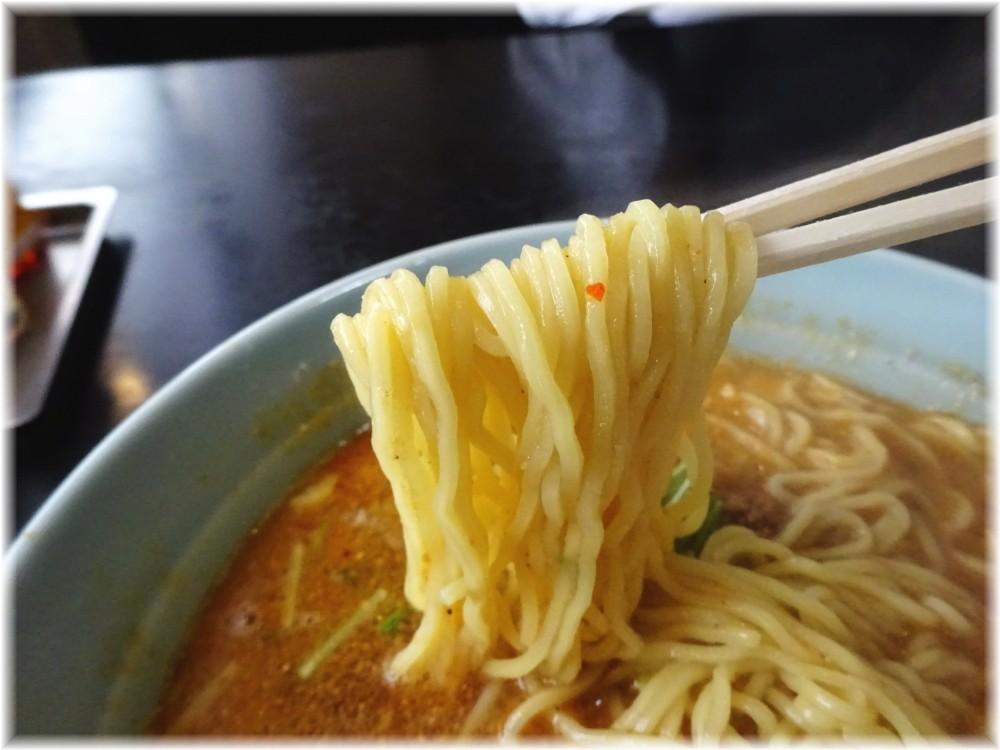 中華四川 陽楽 担々メンの麺