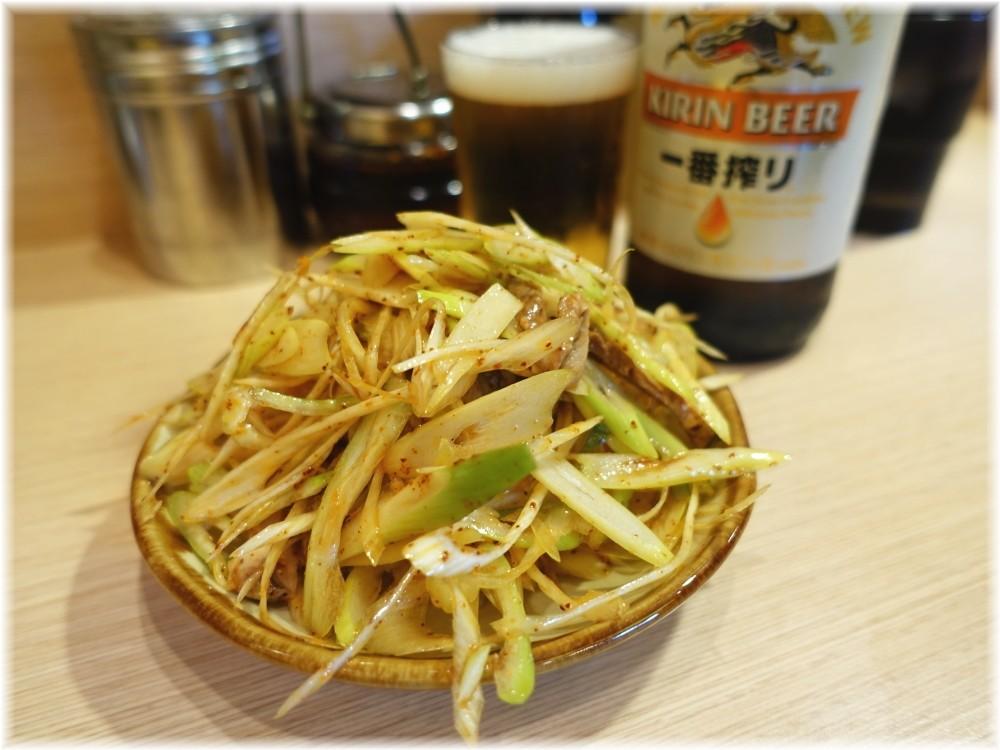田丸 ネギチャーシューとビール