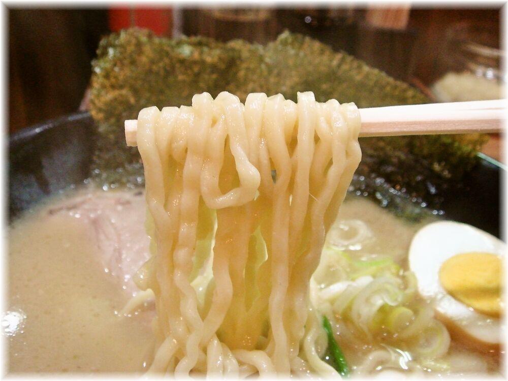 とんこつ麺砂田 らーめんの麺