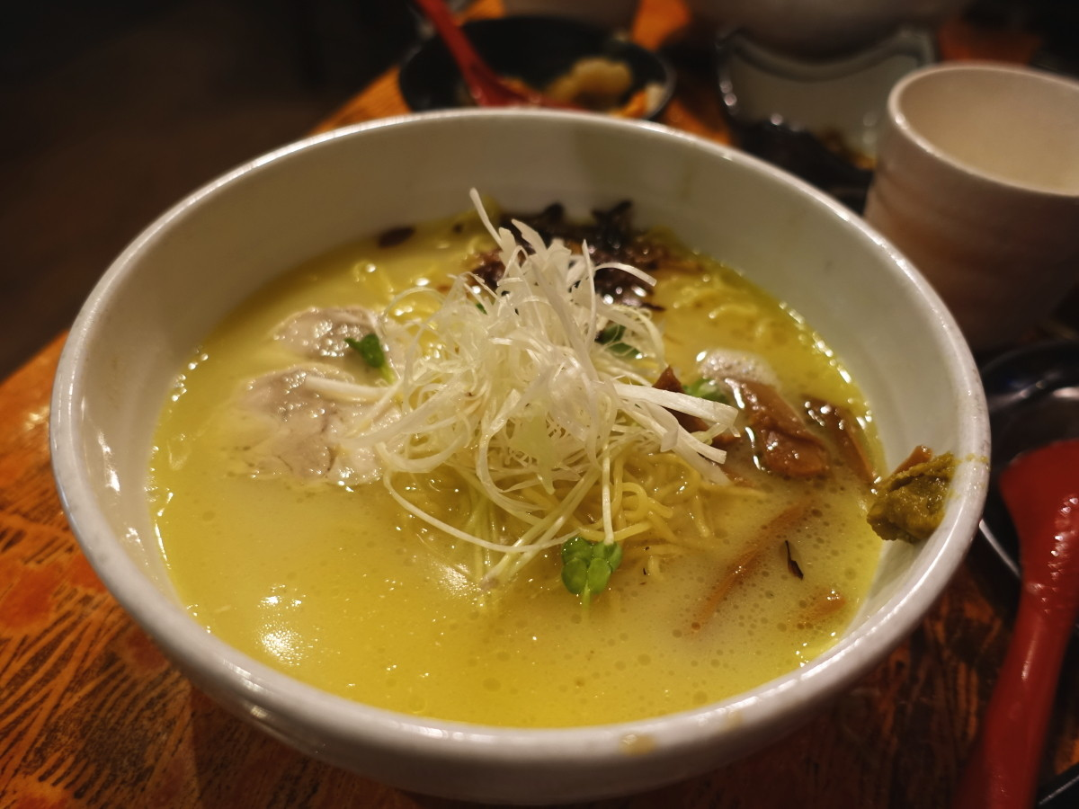 メン屋ちっきん ちっきん麺(塩)