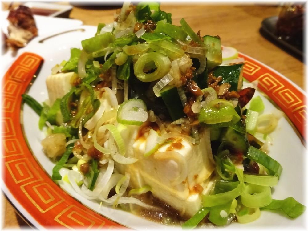 タイガー餃子会館 ピータン豆腐