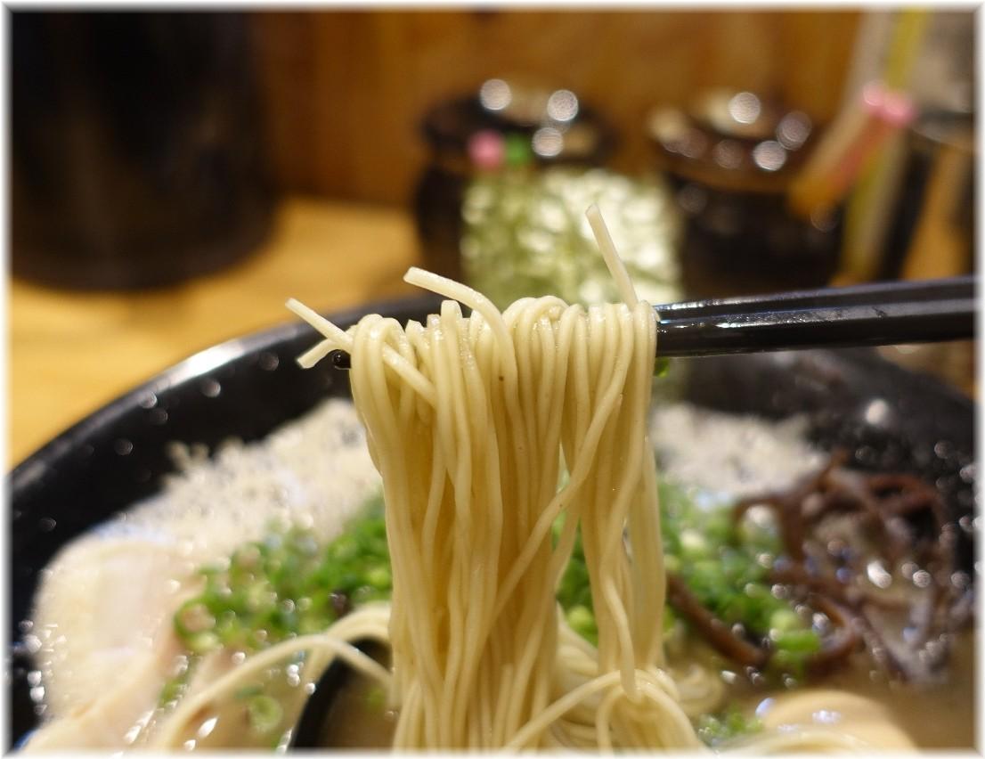 博多一瑞亭三田店5 ラーメンの麺